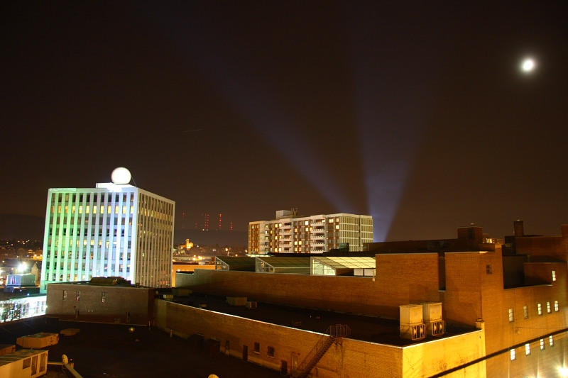 Downtown Wilkes-Barre from Boscov's Parkade